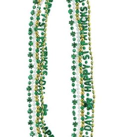ST PATRICK'S DAY NOVELTY ST PATS NECKLACE MULTI-PACK