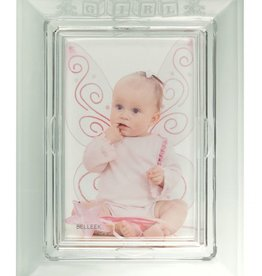 FRAME GALWAY CRYSTAL BABY FRAME - GIRL