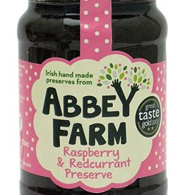 MISC FOODS ABBEY FARM PRESERVES - RASPBERRY & REDCURRANT