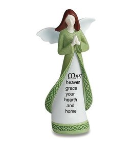 "ANGELS ""HEARTH & HOME"" IRISH ANGEL FIGURINE"