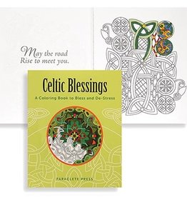 "NOVELTY ""CELTIC BLESSINGS"" COLORING BOOK"