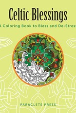 """NOVELTY """"CELTIC BLESSINGS"""" COLORING BOOK"""