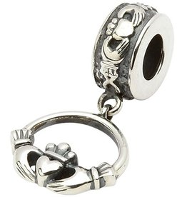 BEADS TARAS DIARY CLADDAGH DROP BEAD