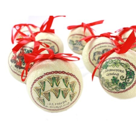 ORNAMENTS SOLVAR 12 DAYS of CHRISTMAS ORNAMENT SET