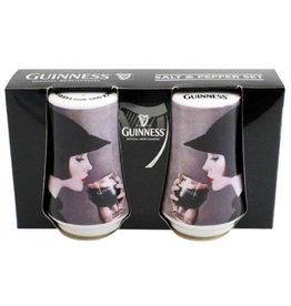 MISC NOVELTY GUINNESS GIRL SALT & PEPPER SET