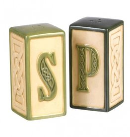 KITCHEN & ACCESSORIES CELTIC SALT & PEPPER SHAKERS
