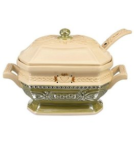 KITCHEN & ACCESSORIES CELTIC TUREEN with LID & LADLE