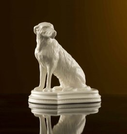 LIMITED EDITION IRISH WOLFHOUND - (1977-1987) BELLEEK ARCHIVE COLLECTION