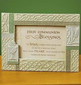 KIDS RELIGIOUS IRISH FIRST COMMUNION FRAME