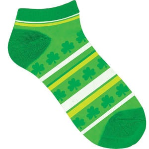 ACCESSORIES NOVELTY SHAMROCK SOCKS