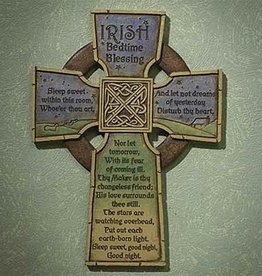 KIDS RELIGIOUS IRISH BEDTIME CROSS