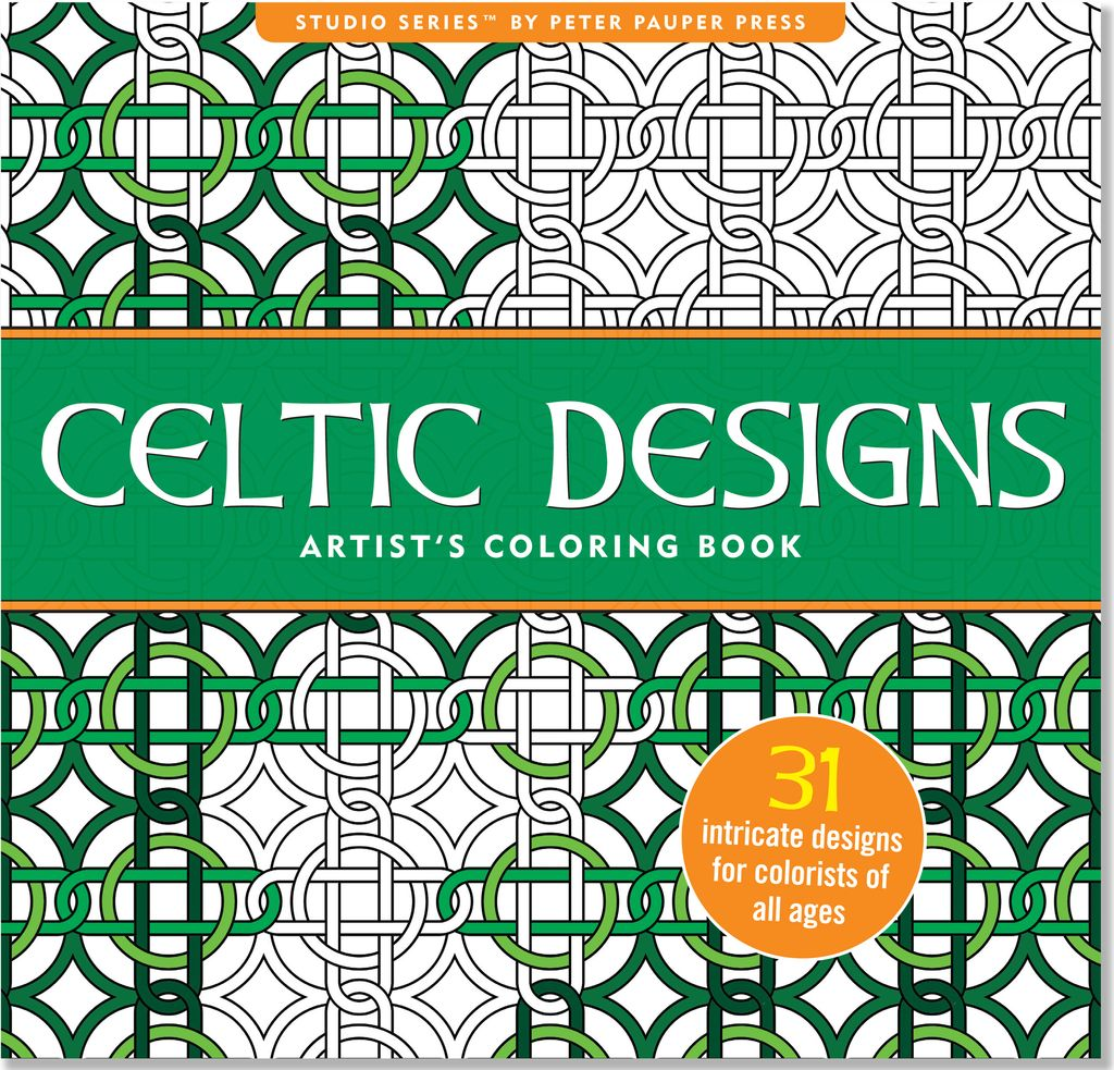 novelty celtic coloring book - Celtic Coloring Book