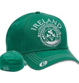 CAPS & HATS CROKER SHAMROCK IRELAND GREEN CAP