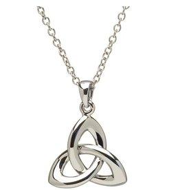 PENDANTS & NECKLACES TWIST HEAVY STERLING TRINITY KNOT PENDANT