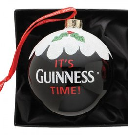 ORNAMENTS GUINNESS BAUBLE ORNAMENT