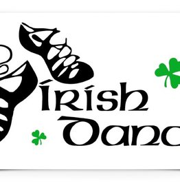 KEYCHAINS/CAR/ETC IRISH DANCE DECAL