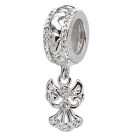 BEADS ORIGINS DROP ANGEL BEAD with SWAROVSKI CRYSTAL