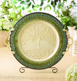 DECOR CELTIC 'TREE OF LIFE' PLATTER
