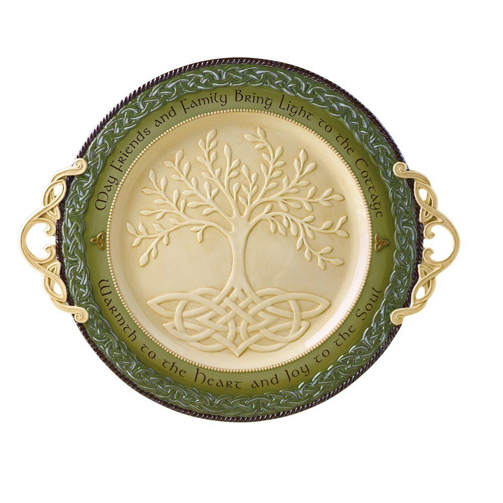 DECOR CELTIC 'TREE OF LIFE' PLATTER