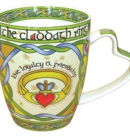 KITCHEN & ACCESSORIES CELTIC WEAVE 'CLADDAGH' MUG