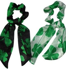 ACCESSORIES SHAMROCK HAIR SCARF