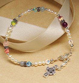 BRACELETS & BANGLES FIRST COMMUNION BRACELET with CELTIC CROSS