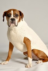 SWEATERS ARAN CABLE KNIT DOG SWEATER