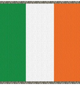 TAPESTRIES, THROWS, ETC. IRISH FLAG THROW