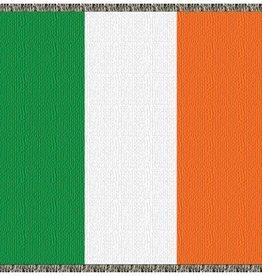 TAPESTRIES, THROWS, ETC. IRISH FLAG THROW