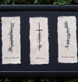PLAQUES, SIGNS & POSTERS OGHAM WISHES PLAQUE - Friendship - Love - Loyalty