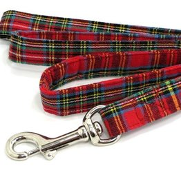 COLLARS & LEASHES PLAID IVA DOG LEASH
