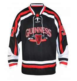 SHIRTS GUINNESS RED HOCKEY JERSEY