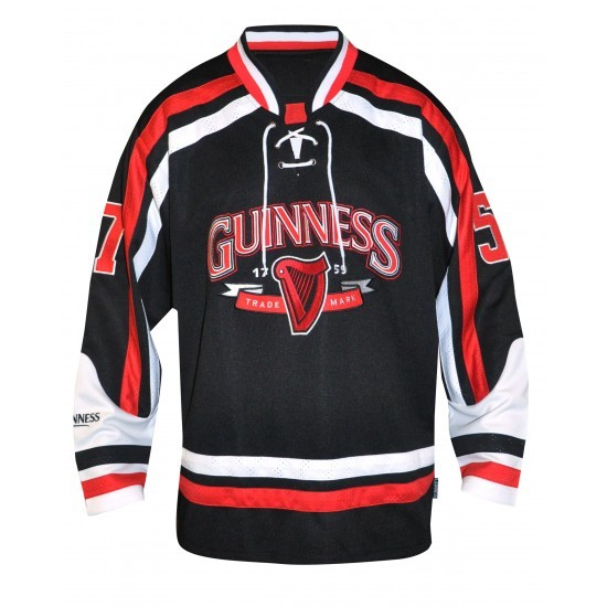 Guinness red hockey jersey irish crossroads for Irish jewelry stores in nj