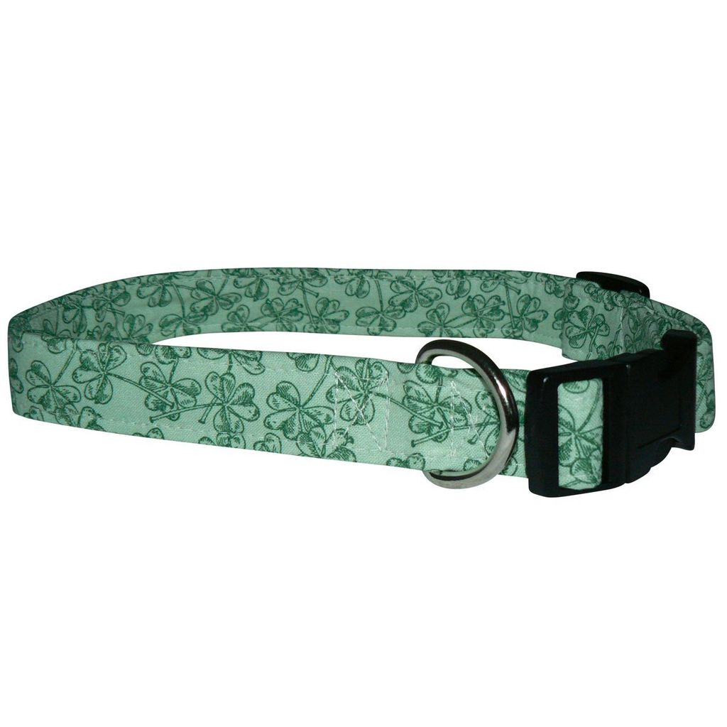 COLLARS & LEASHES SHAMROCK IMPRESSIONS COLLAR