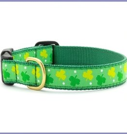 COLLARS & LEASHES DOG HARNESS - LARGE WITH SHAMROCKS
