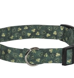 COLLARS & LEASHES GOLD SHAMROCK COLLAR