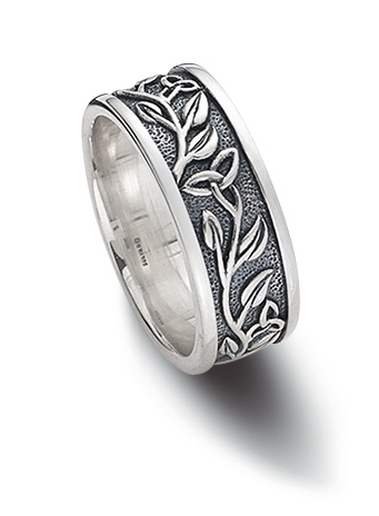 RINGS CLEARANCE - SOLVAR STERLING TRINITY TREE OF LIFE RING - FINAL SALE