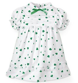 BABY CLOTHES SHAMROCK DRESS