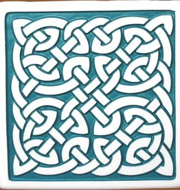 BAR CELTIC KNOT CERAMIC COASTERS (4)