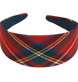 ACCESSORIES TARTAN WIDE HEADBAND