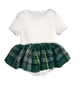 BABY CLOTHES TARTAN TOT BABY ONESIE
