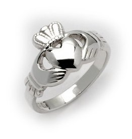 RINGS FADO STERLING MAIDS CLADDAGH RING