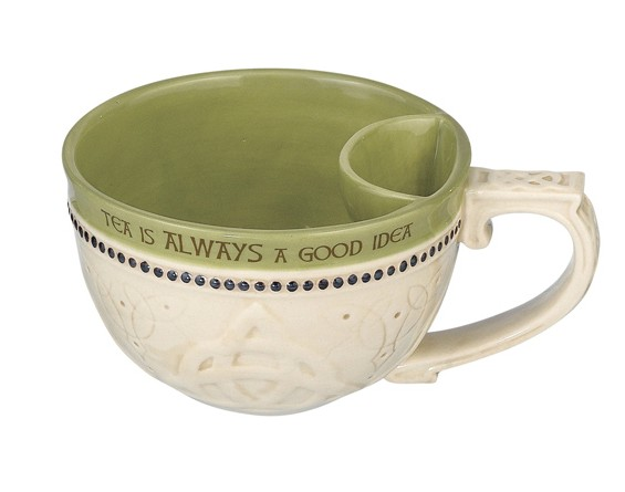 KITCHEN & ACCESSORIES CELTIC CUP with TEABAG HOLDER