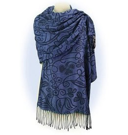 CAPES & RUANAS CELTIC MEDLEY MERINO WOOL SHAWL