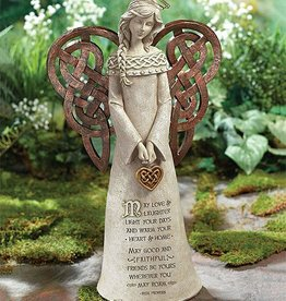 GARDEN CELTIC GARDEN ANGEL FIGURINE