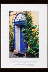 PLAQUES & GIFTS GEORGIAN DOORWAY PRINT 9X12