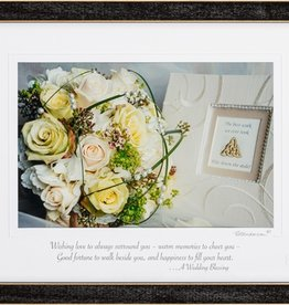 PLAQUES & GIFTS WEDDING BLESSING PRINT 9X12