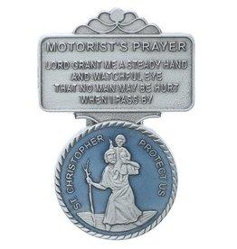 MISC NOVELTY ST. CHRISTOPHER VISOR CLIP