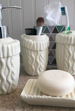 DECOR ARAN BATHROOM SET (4PC)