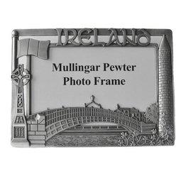 FRAME MULLINGAR PEWTER IRELAND 4x6 FRAME